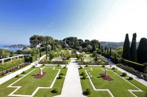 Main garden Villa Ephrussi de Rothschild