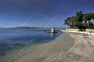 Juan les Pins Port Mallet beach