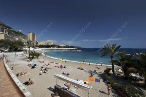 Monte Carlo Larvotto beach