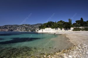 Villefranche sur Mer Passable beach