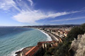 Nice Promenade des Anglais pebble beach