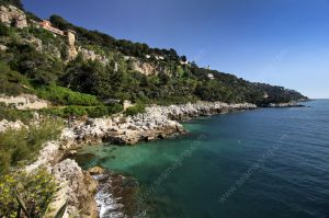 Coastal path around the Cap Ferrat