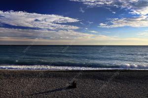 Pebble beach Promenade des Anglais