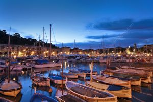 Port of Nice, traditional fisherman boat Pointu