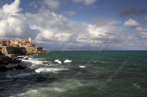 Antibes facing the sea