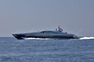 Baglietto 115 Ischia cruising