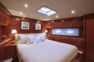 Leopard 24m master cabin