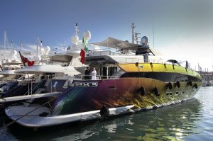 Cavallari yacht in Cannes
