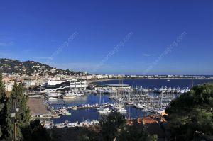 Cannes vieux port and Croisette