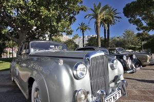 Vintage car at la Croisette