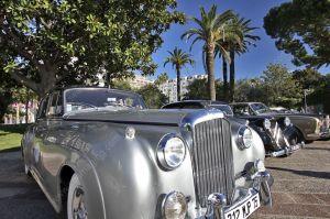 Vintage car at la Croisette