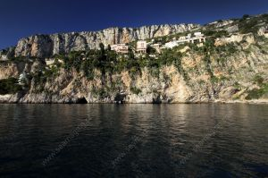 Coastal cliff near la Mala