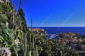 Monaco Palais princier et rocher